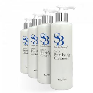 4 Cleanser Bottles